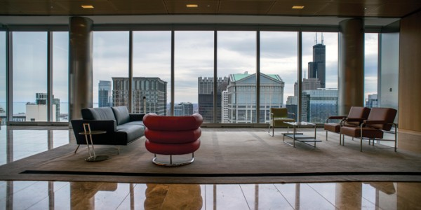 Check out that view! Source: Chicago Lawyer Magazine