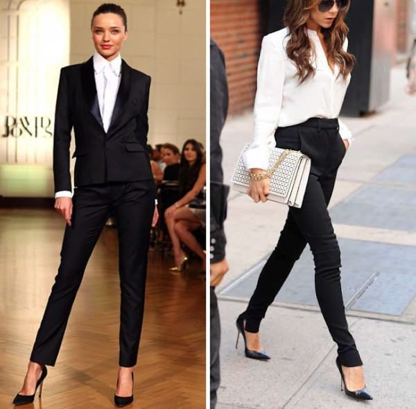 Boardroom chic: work those pumps!